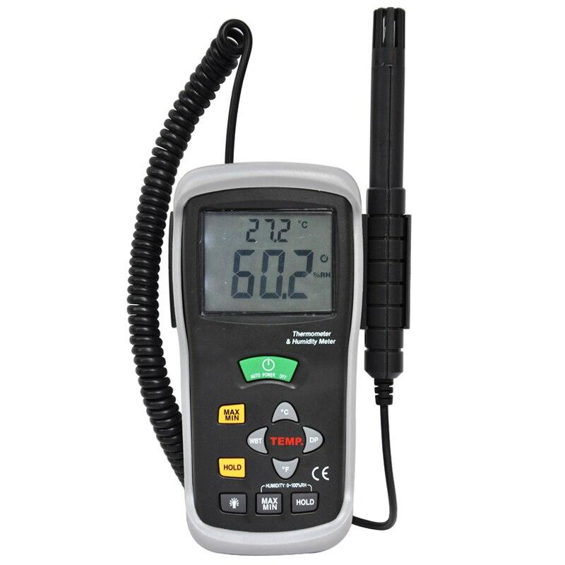 hygrometer digital  thermometer hygrometer handheld humidity & temperature meters handheld digital grain temperature 8 20