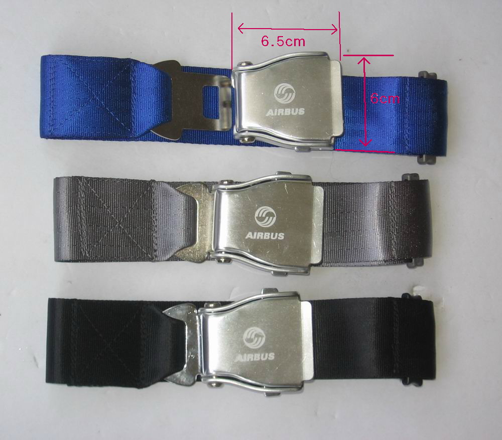 fashion belts with  airline seatbelt buckle  Adjustable length   - Car Interior Accessories - Photo 2