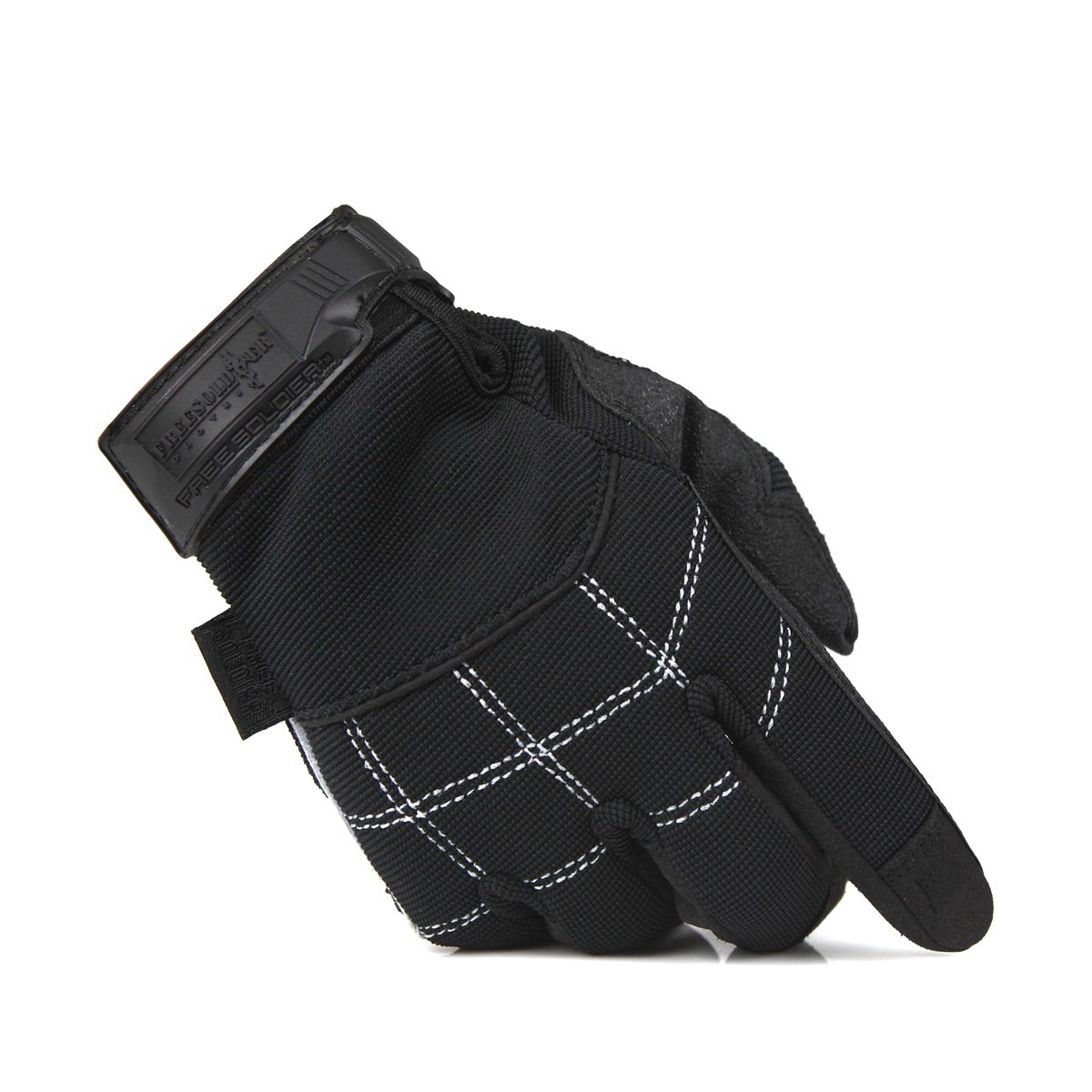 ФОТО Climbing down gloves anti-slip wear-resistant flexible refers to all