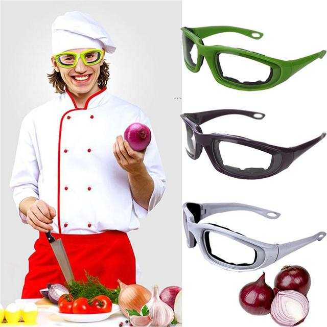 Protective Glasses Black Onion Goggles Tear Free Slicing Cutting Chopping Mincing Eye Protect Glasses Spectacles Kitchen Tools