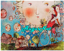 Zon diamant schilderij cartoon dimond borduren fiets diamant rhinestone foto man vrouw lover stickers olieverf door getallen(China)