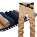 New 2017 Men's Trousers Men Casual Slim Fashion Pants Male Spring Long Khaki Pants Men Brand Clothing High Quality Plus Size 42