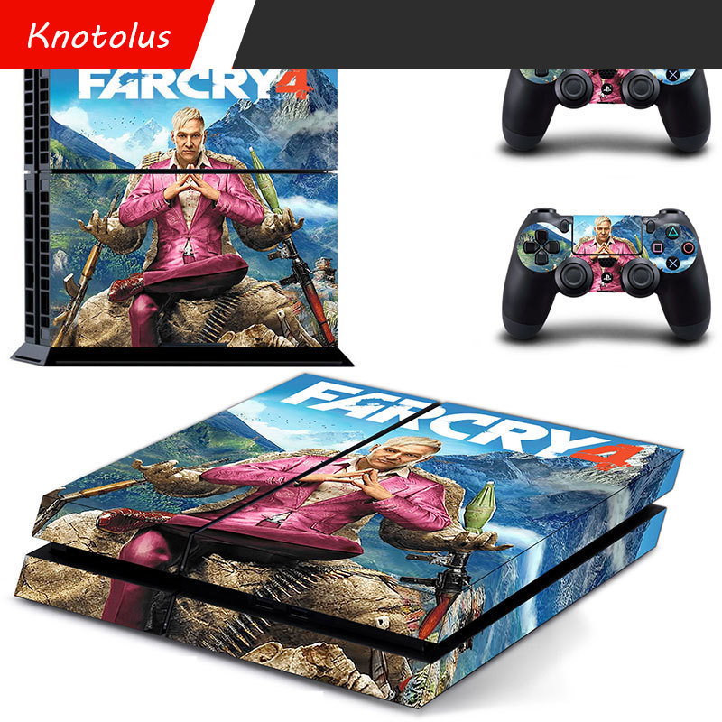 Spiderman stickers for PlayStation4 Slim Skin Sticker For Sony sinper elite 3 call of duty Controller Skin far cry 4
