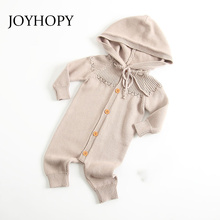 Infant Clothing Autumn Spring Baby Rompers Hoodies Baby Girl