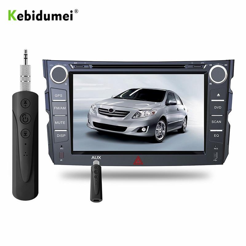 Unterhaltungselektronik Aus Dem Ausland Importiert Kebidumei Bluetooth Lautsprecher Auto Bluetooth Aux Universal 3,5mm Jack Hände Frei Auto Empfänger Musik Auto Bluetooth Empfänger Entlastung Von Hitze Und Sonnenstich