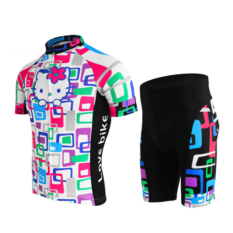 NEW Customized Women Hot 2017 JIASHUO Kitty Cat pro   road RACE Team Bike  Pro Cycling Jersey   Wear   Clothing   Breathing Air f670e5912