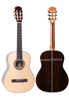 36 Inch Acoustic Classical Guitar With Solid Spruce Top Rosewood Body 3 4 Classical Guitar 580MM