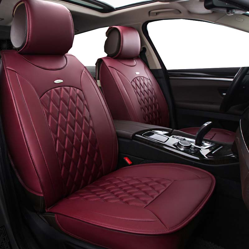 5 Seats Full Leather Car Seat Cover Styling Fit Suzuki