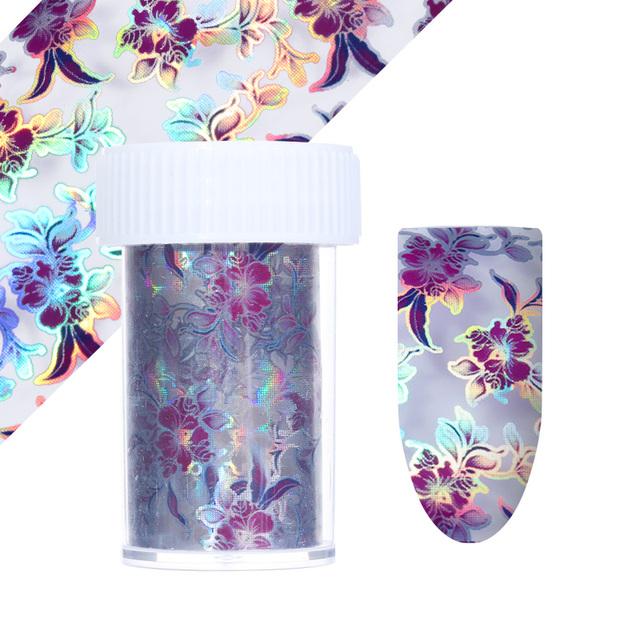 Holographic Nail Foil Sets