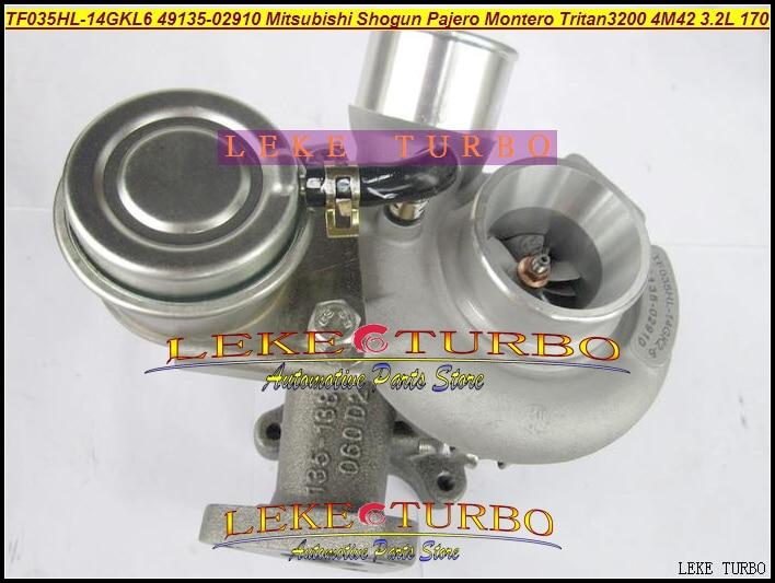 Turbo TF035 49135-02910 49135 02910 4913502910 49490-13101 49493-94901 For Mitsubishi Shogun Pajero Montero 4M42 TRITAN 320 3.2L футболка print bar shogun assassin