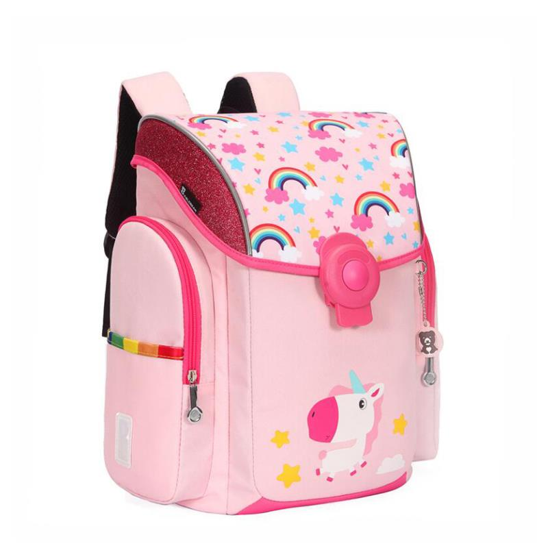 Sac d'école pour enfants pour filles et garçons sac à dos imperméable PU Randoseru sacs pour enfant sacoche orthopédique Mochila Escolar