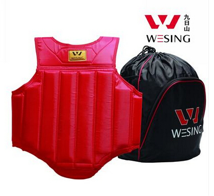 WESING MMA boxing Chest Guard Pad Muay Thai kickboxing chest armor Protector Breast Boxing Karate Taekwondo Kickboxing Training top brand mma karate muay thai kick training helmet boxing head guard protector headgear sanda taekwondo protection gear