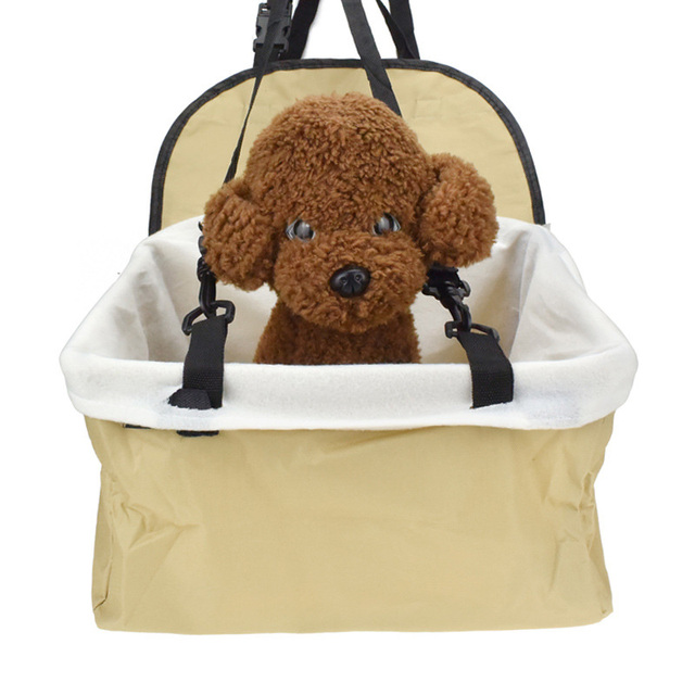 Pet Carrier Dog Car Seat Cover Waterproof Puppy Car Booster Seat Protector Outdoor Travel Dog Car Basket 32*25*19cm