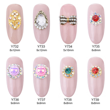 Nail bow gems reviews online shopping nail bow gems reviews on 10pcs new designs nail art decoration strass rhinestones black glitters bows nail gems supplies y732 prinsesfo Image collections
