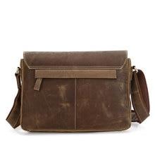 PASTE Vintage Leather Style Men's Handbag shoulder bags Briefcase Messenger Bag # 7111B