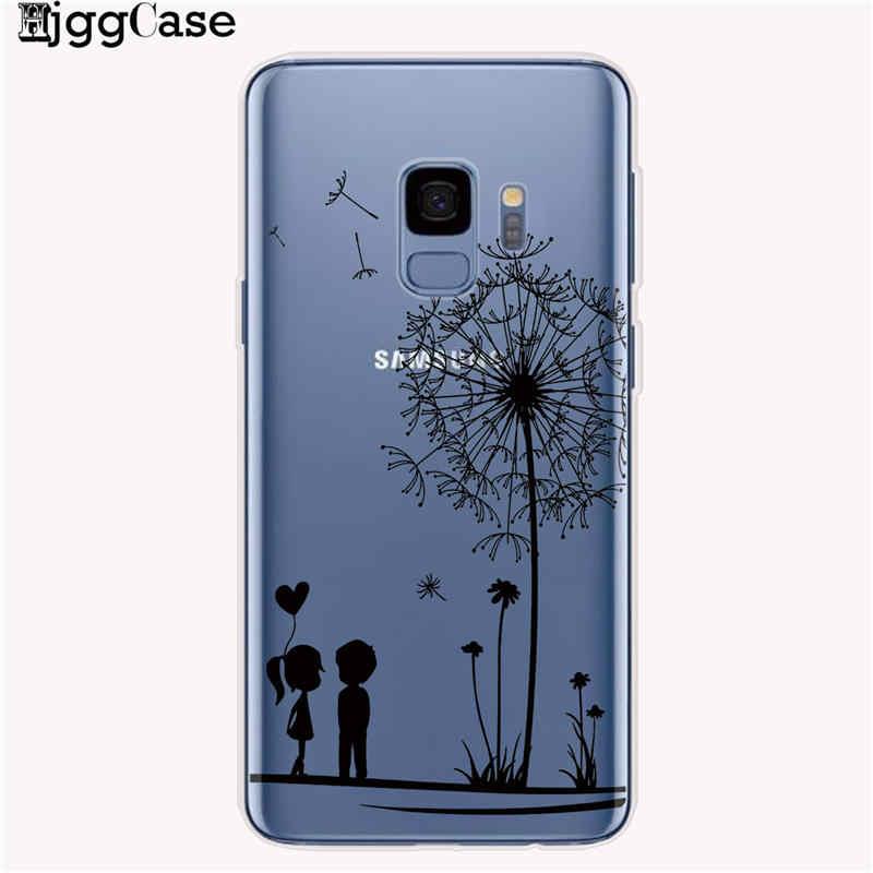 Мягкий силиконовый чехол-накладка из ТПУ С Рисунком бабочки для samsung Galaxy A10 A20 A50 A30 A70 A6 A8 A7 A9 2018