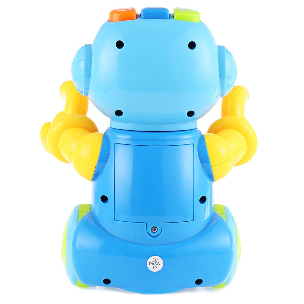 Baby Intelligence Smart Space Dance Robot Electronic Toys With Music