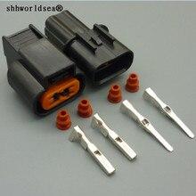 Shhworld Sea 2 Pin 2,2 мм PB625-02027 PK501-02020 ABS сенсор противотуманная фара автомобильный жгут проводов разъем для Mitsubishi Souast