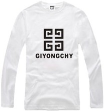 New Men's long sleeve T shirt Bigbang GD GIYONGCHY Cotton Top Casual Hooded Fashion
