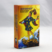 Option Classic Tarot Board Game 78 PCS/Set Boxed Playing Card Tarot Board Game For Family/Friends