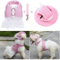Dog Dress Cute Princess Lace Skirt Pets Wedding Dress High Quality Clothes Supplies Pet Apparel Drop