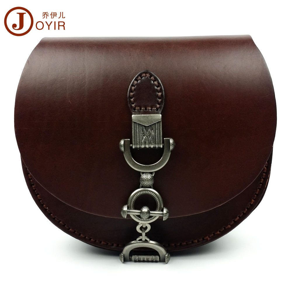 JOYIR Fashion Vintage High Quality Genuine Leather Women Small Shoulder Bag Messenger Crossbody Bag HandBag for Girl Ladies bags genuine leather studded satchel bag women s 2016 saffiano cute small metal rivet trapeze shoulder crossbody bag handbag