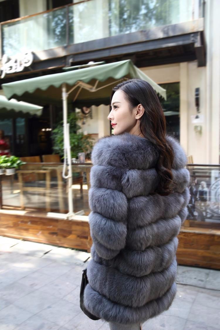 длинная норковая шуба распродажа 2018 новая мода женский зимний мех имитация лисы мех пальто высокое качество искусственный мех пальто женщина с-10xl