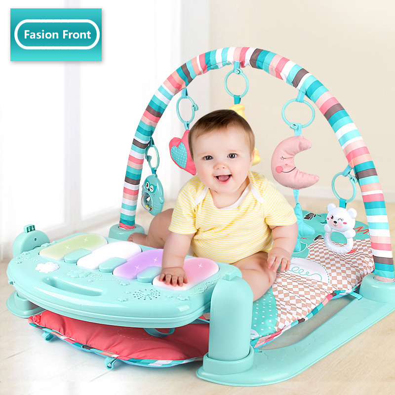 Baby Play Mat Piano Gym Infant Activity Center Kick And