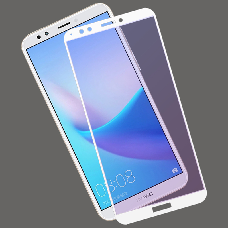 Tempered Glass Full Cover For Huawei <font><b>Honor</b></font> V8 8 Pro 8 <font><b>7X</b></font> 6X Screen Protector Glass Cristal Templado Pelicula Vidro <font><b>Verre</b></font> <font><b>Trempe</b></font> image