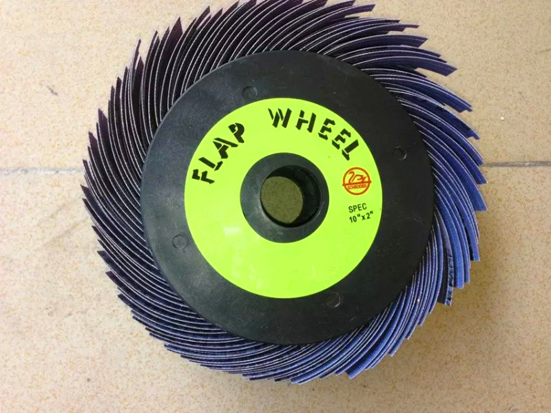 Abrasives Flap Wheel 96 Flaps Abrasive Sanding Wheels Long Flaps Sanding Wheel