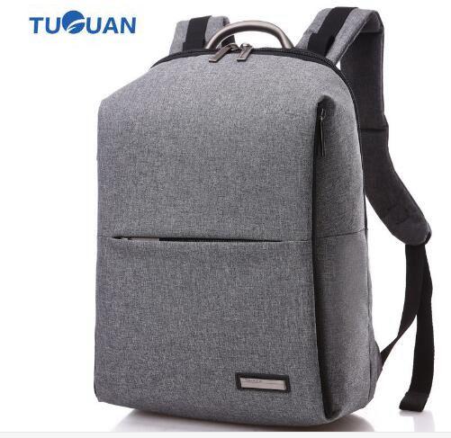 TUGUAN Brand Rucksacks Men Women Backpack Bags Business Mochilas 14 Laptop Back bag Unisex Male Female