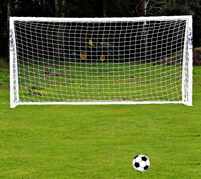 Durable 5V5 Soccer Goal Net Football Net Football Goal Net Size 9.84ft*6.56ft / 3m*2m Polypropylene For 5 Person Football Match