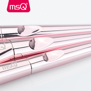 Image 5 - Msq 10 pincéis de maquiagem, kit de pincéis de maquiagem profissional para blush, base, sombra, viagem
