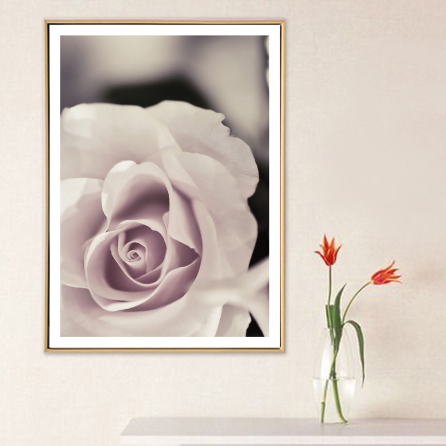 Canvas Art Print Flower Butterfly Hand Building Nordic Posters And Prints Wall Art Canvas Painting Wall Pictures For Living Room in Painting Calligraphy from Home Garden