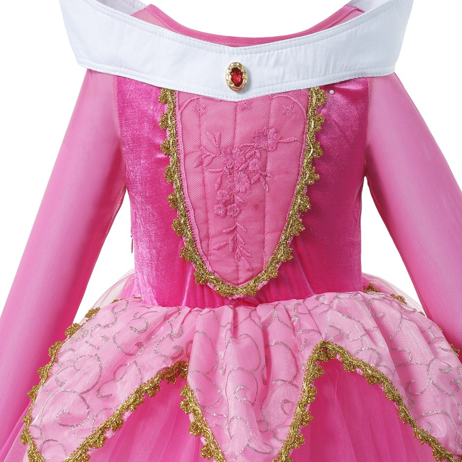 Rose Sleeping Beauty Cosplay Costume (4)