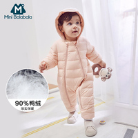 Baby boy girl Clothes 2018 New born Winter Hooded Rompers Thick Cotton Outfit Newborn Jumpsuit Children Costume toddler romper