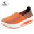 ZOCN Cuñas de Las Mujeres Tejen Los Zapatos Mujer Calzado Casual 2016 Nuevo Four Seasons Zapatos de Plataforma Transpirable Tejido Elástico Zapatos Mujer