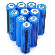 GTF 18650 3,7 В 5000 мАч Батарея Перезаряжаемые батареи для светодиодный фонарик