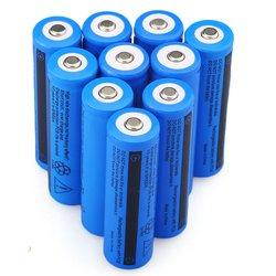 GTF Original 18650 Batteria Bateria 3.7V 5000mAh Recarregável Li-ion para Lanterna LED Caneta Laser Grande Capacidade de 18650 bateria