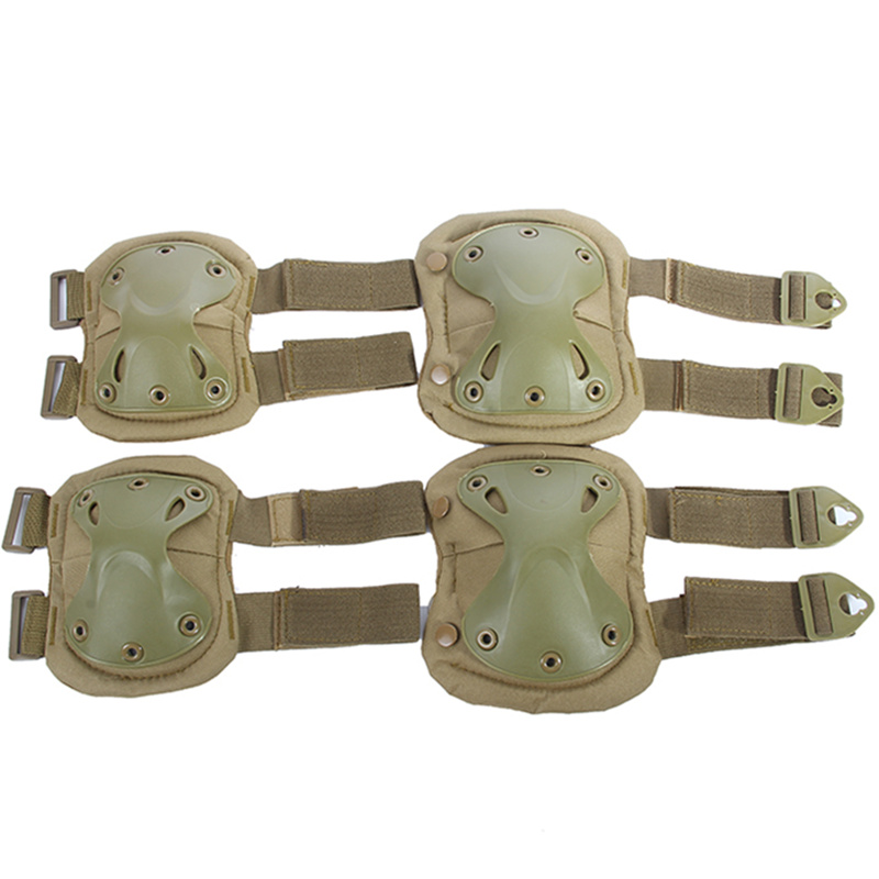 knee pads for sports Hiking knee protector knee tactical Military professional knee pads ice skates Moto-protection Khaki color