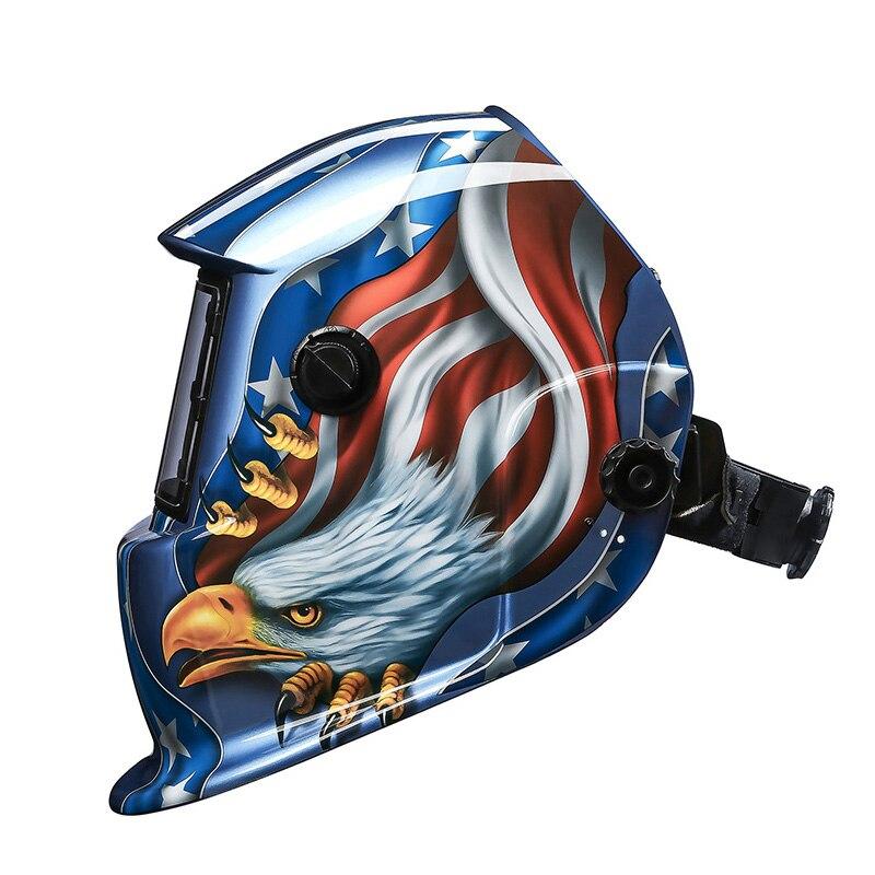 DEKO Eagle Солнечная Автоматическая Затемняющая MIG MMA электрическая Сварочная маска/сварочные линзы для сварочного аппарата или плазменной рез...