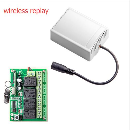 Big discount 433Mhz Wireless Remote Control Smart 4CH Wireless Relay Output for G90B G90B plus S2G S3 S2W S1 G90E centurion smart 1 smart 2 smart 4 replacement remote control