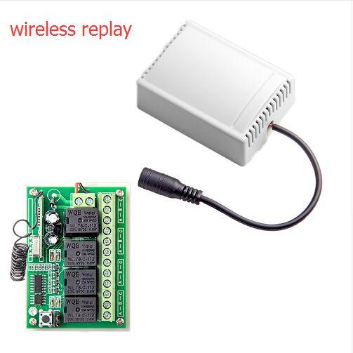 Big discount 433Mhz Wireless Remote Control Smart 4CH Wireless Relay Output for G90B G90B plus S2G S3 S2W S1 G90E high quality 433mhz keychain remote control key fob for g90e g90b security wireless alarm system