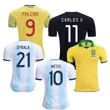 050d07588 Camisas de futebol 2019 mexico CHICHARITO jerseys argentina home football  shirt top quality colombia Brazil Colombia