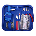 376pcs Watch Repair Tool Kit Opener Link Remover Spring Bar Hammer Carry Case