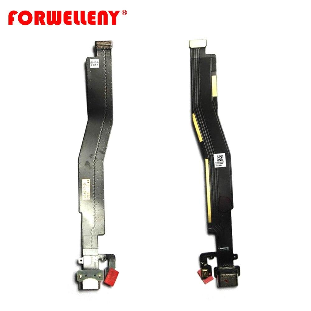 Para oneplus 3 3 T três oneplus 3 A3000 A3003 A3010 Tipo C USB Carregador de Carregamento Porto Dock Connector Cable flex Substituição parte