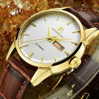 Timeless Classic!! Top Luxury Mens Watches Since 1853 Men Business Wristwatch With Calendar Leather Strap Men Quartz Clock Gift