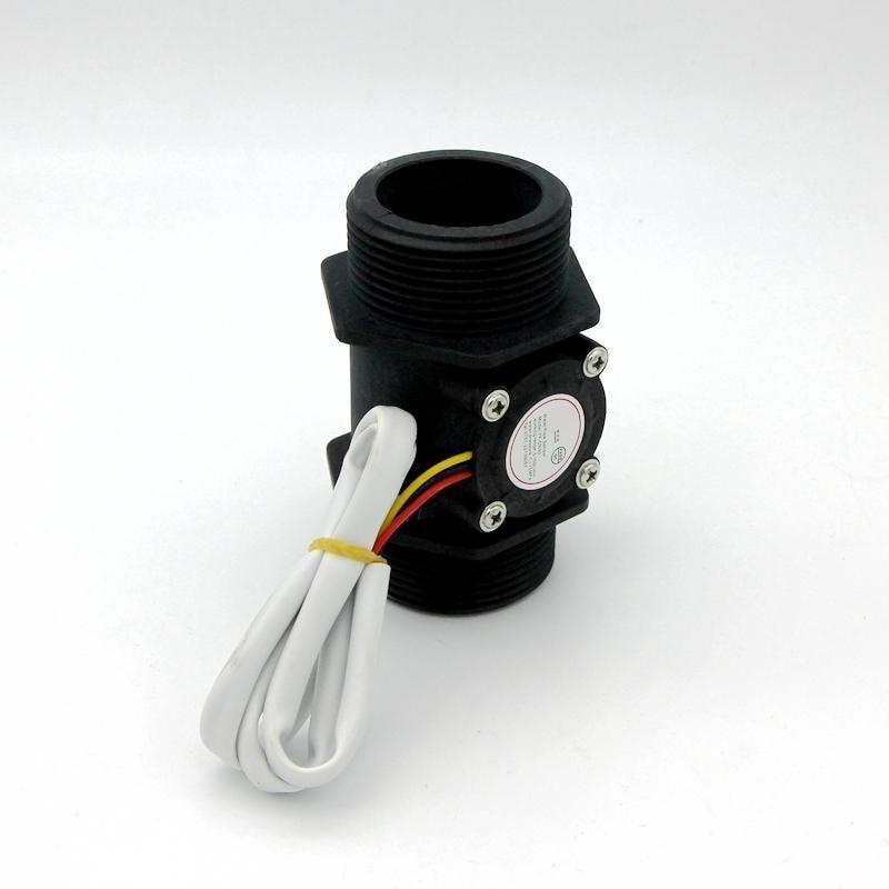 G1.5 DN40 Water flow sensor Industrial flow meter 1.5 Water Flow Flowmeter Counter Hall Sensor Switch Meter 5-150L/min hs08 pvc water flow hall sensor flowmeter counter white