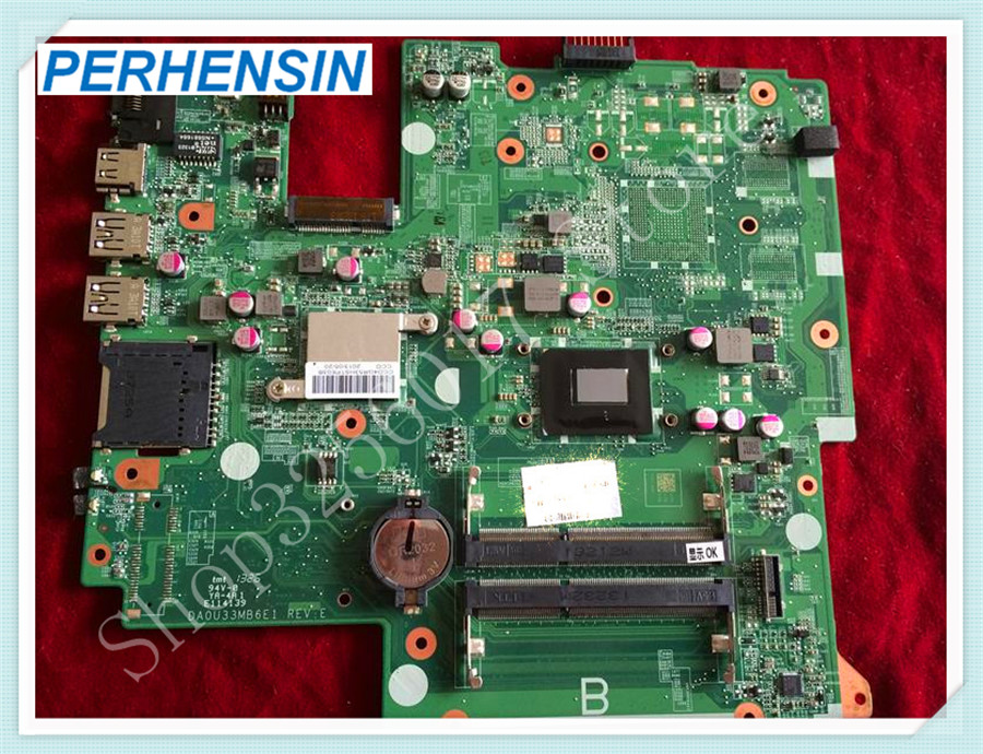 For HP For Pavilion For TouchSmart 10-e Series 10.1  laptop MOTHERBOARD 744421-501 DA0U33MB6E 100% tested good original for hp touchsmart 23 all in one pc motherboard pn 732130 002 ipshb la 100