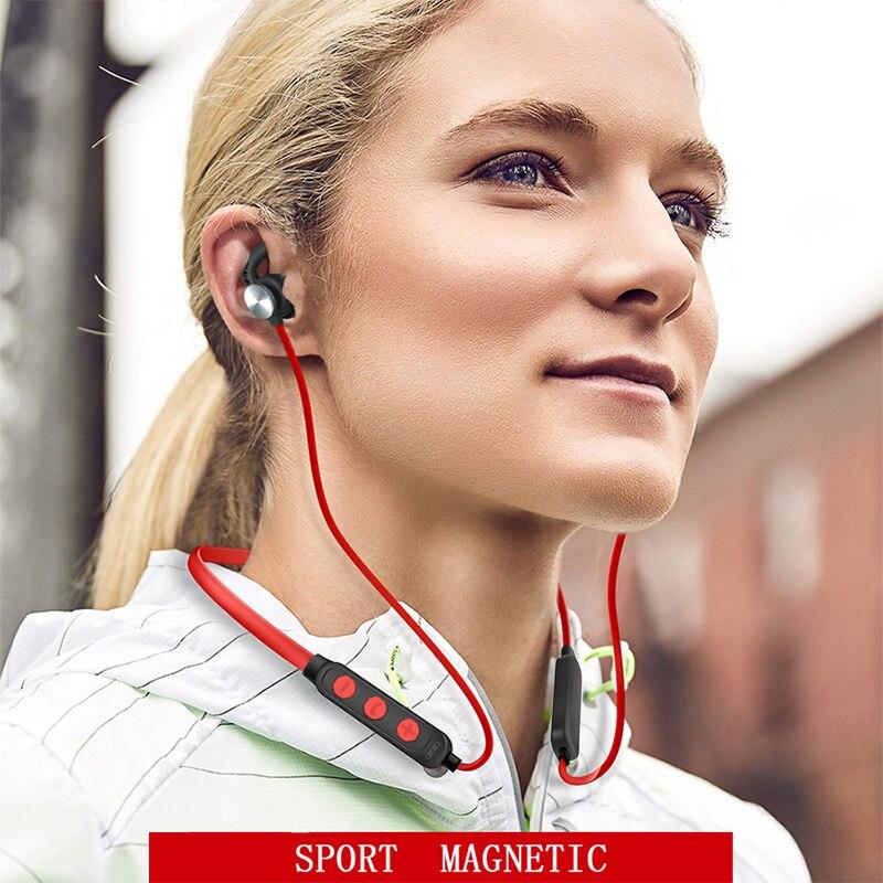 Auriculares Bluetooth YOU FIRST auriculares para teléfono móvil auriculares inalámbricos Bluetooth auriculares para deporte auriculares estéreos con imán con micrófono